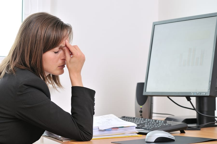 Eye Strain And Electronic Devices