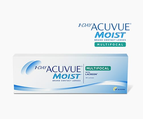 ACUVUE® MOIST MULTIFOCAL Contact Lens
