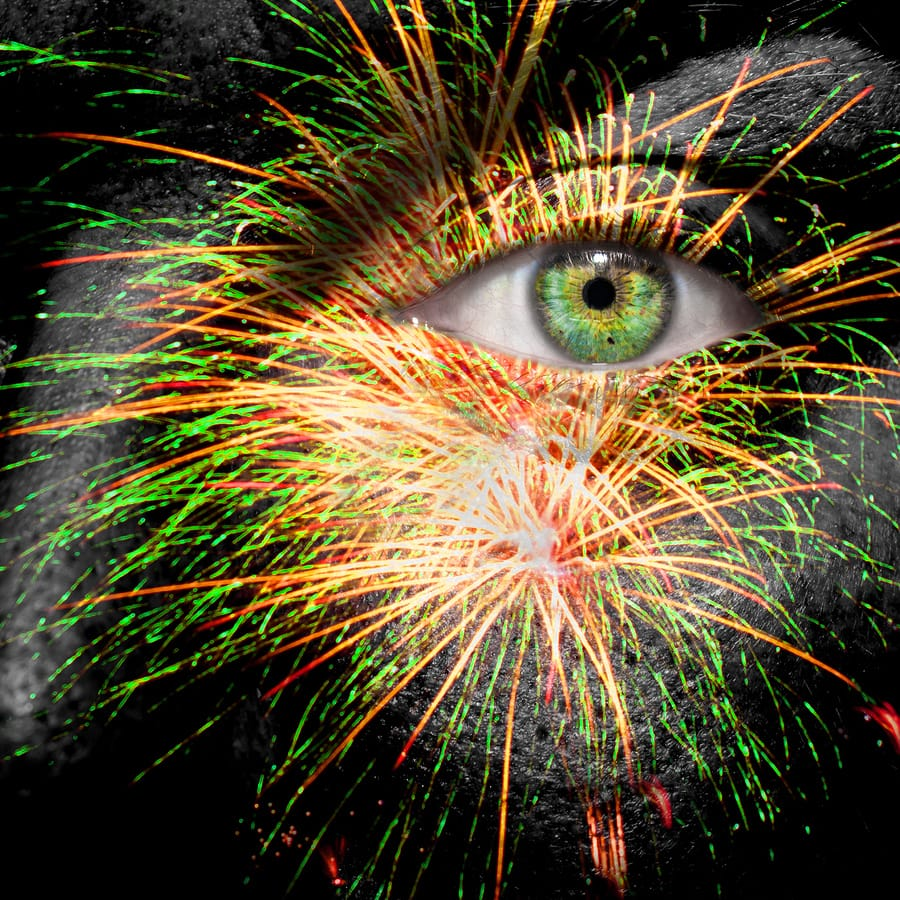 Fireworks And Eye Safety
