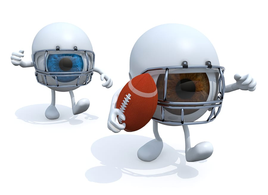 Protecting Your Eyes During Football Season
