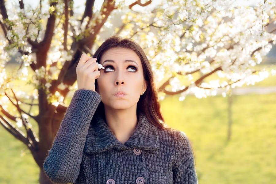 Ocular Allergies in Spring
