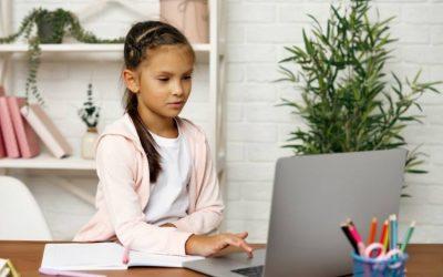 How Online School Can Impact Children's Eyes